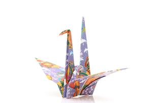 折り鶴の写真素材 [FYI00083741]