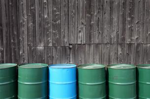 ドラム缶の写真素材 [FYI00083887]