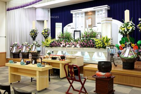 葬儀の写真素材 [FYI00084634]