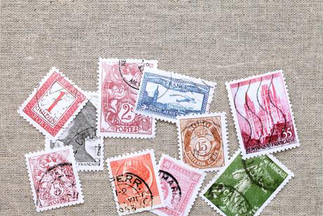 切手の写真素材 [FYI00084855]