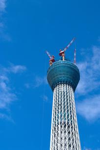東京スカイツリー展望台の写真素材 [FYI00084870]
