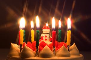 クリスマスケーキの写真素材 [FYI00084887]