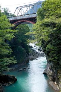 吾妻渓谷の写真素材 [FYI00084896]