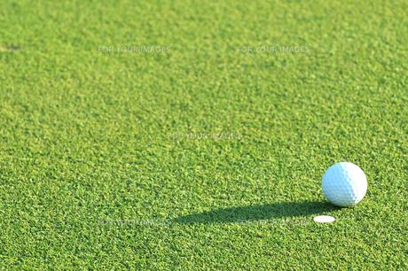 ゴルフボールの写真素材 [FYI00084947]