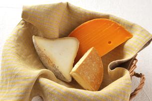 チーズ盛り合わせの写真素材 [FYI00085057]