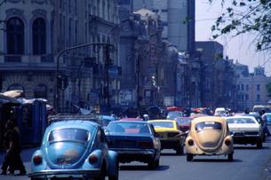 リマ市街の交通渋滞の写真素材 [FYI00085486]