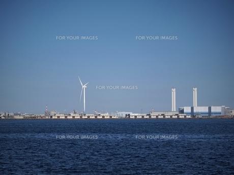 みなとみらいの風車の素材 [FYI00085651]