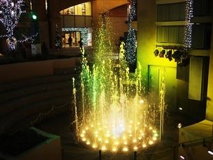 川崎ラチッタデッラの噴水の写真素材 [FYI00085818]