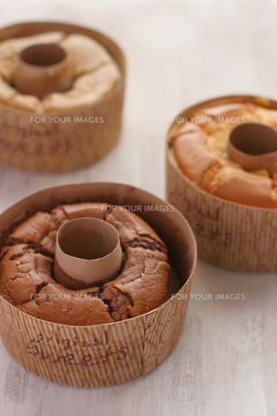 シフォンケーキの写真素材 [FYI00086026]