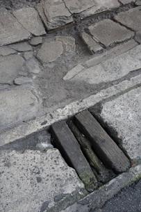 排水溝の写真素材 [FYI00086487]
