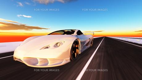 スポーツカーの素材 [FYI00086573]