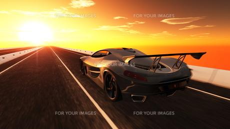 スポーツカーの素材 [FYI00086583]