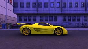 スポーツカーの写真素材 [FYI00086596]