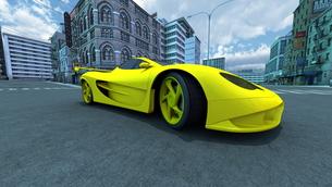 スポーツカーの写真素材 [FYI00086598]