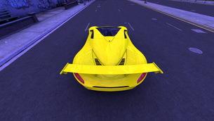 スポーツカーの写真素材 [FYI00086600]