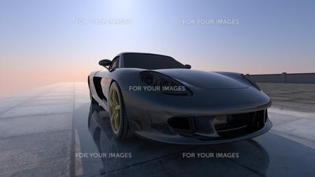 スポーツカーの素材 [FYI00086628]