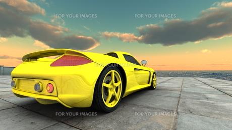 スポーツカーの素材 [FYI00086635]