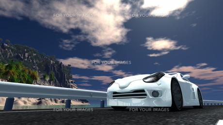 スポーツカーの素材 [FYI00086646]