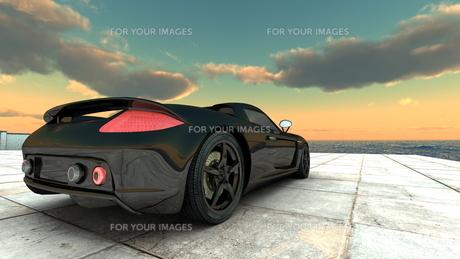 スポーツカーの素材 [FYI00086647]
