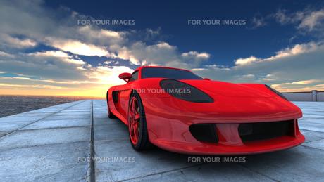 スポーツカーの素材 [FYI00086648]