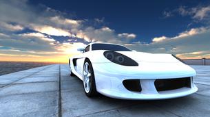 スポーツカーの素材 [FYI00086650]