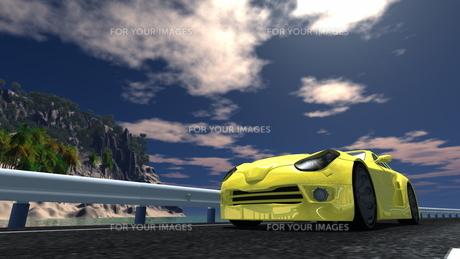 スポーツカーの素材 [FYI00086651]