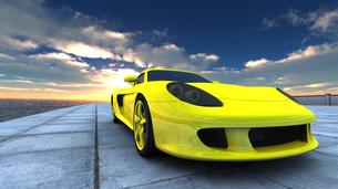 スポーツカーの素材 [FYI00086653]