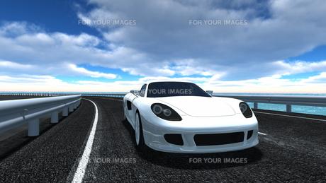 スポーツカーの素材 [FYI00086656]