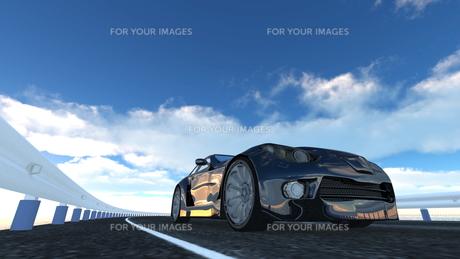 スポーツカーの素材 [FYI00086663]