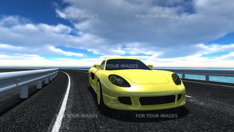 スポーツカーの素材 [FYI00086668]