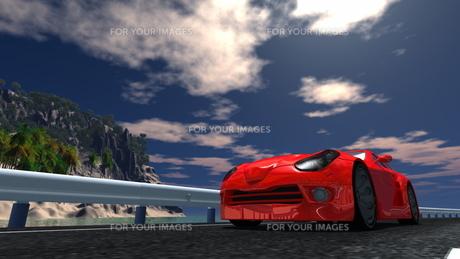 スポーツカーの素材 [FYI00086669]