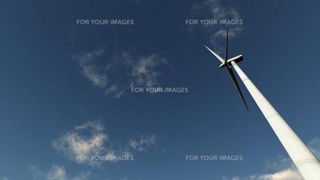プロペラ風車の素材 [FYI00086700]