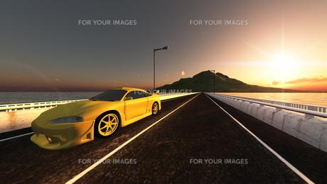 スポーツカーの素材 [FYI00086701]