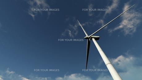 プロペラ風車の素材 [FYI00086706]
