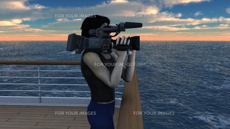 カメラマンの写真素材 [FYI00086707]
