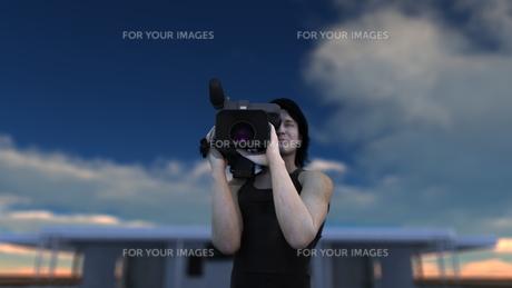 カメラマンの写真素材 [FYI00086711]