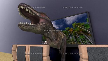 3Dテレビの素材 [FYI00086716]