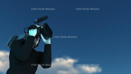 カメラマンの写真素材 [FYI00086722]