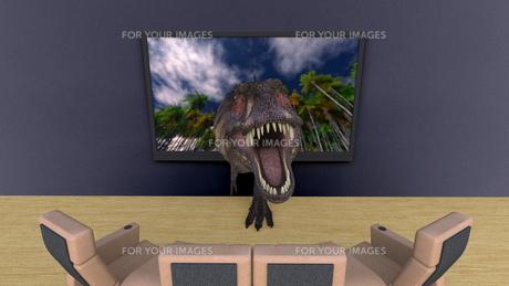 3Dテレビの写真素材 [FYI00086734]