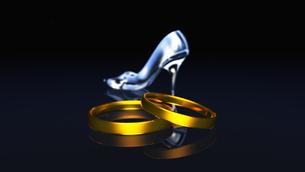 ガラスの靴の写真素材 [FYI00086841]