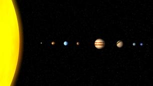 惑星の写真素材 [FYI00086887]