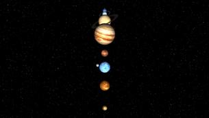 惑星の写真素材 [FYI00086889]