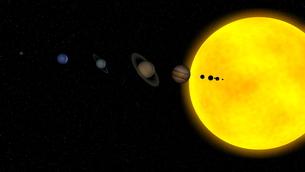 惑星の写真素材 [FYI00086894]