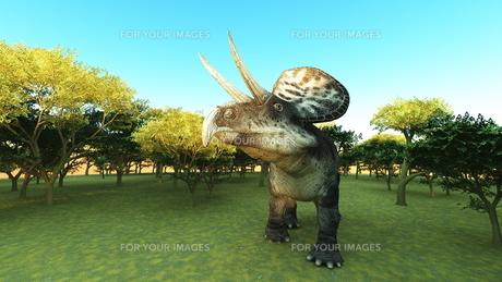 恐竜の写真素材 [FYI00086899]