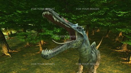 恐竜の写真素材 [FYI00086900]