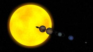 惑星の写真素材 [FYI00086901]