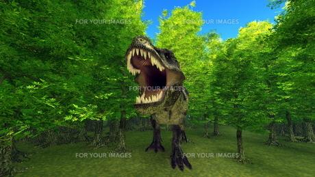 恐竜の写真素材 [FYI00086903]