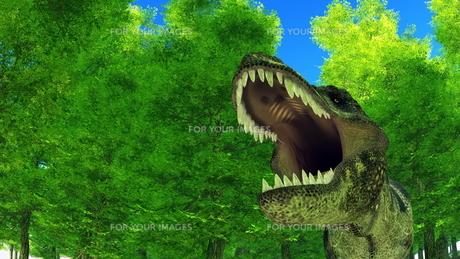 恐竜の写真素材 [FYI00086908]