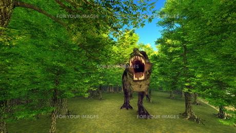 恐竜の写真素材 [FYI00086912]