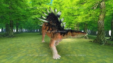 恐竜の写真素材 [FYI00086928]